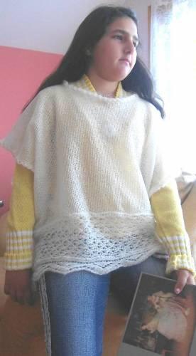 шьем и вяжем пончо на полную женщину - Выкройки одежды для детей и...